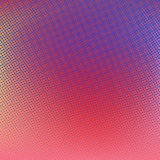 Halftone background. Red blue color