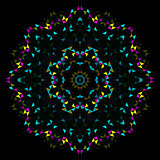 Abstract Geometric Bright Kaleidoscope Pattern