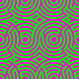 Two-color spiral patterns. Seamless pattern. Vector background. Modern . Hypnotic line.