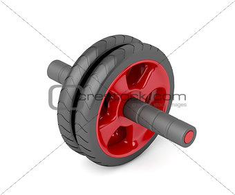 Abdominal toning wheel
