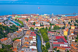 City of Rijeka aerial view