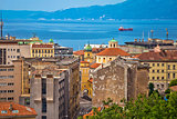City of Rijeka waterfront view
