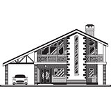 House vector graphics