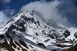 Snow-covered Mountain Kazbek