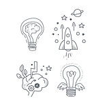 Idea Symbolic Icon Set