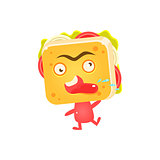 Sandwich Character Cursing
