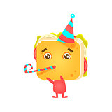 Sandwich Character On Birthday Party