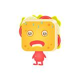 Sick Sandwich Character