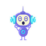 Shocked Little Robot