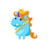Unicorn In Prince Charming Costume
