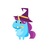 Unicorn In Witch Costume