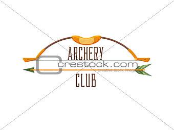 Archery club logo