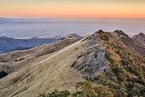 Sunset at Fremont Peak State park
