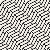Vector Seamless Chevron ZigZag Diagonal Lines Geometric Pattern