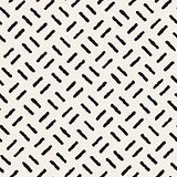 Vector Seamless Black And White Hand Drawn Lines Pattern
