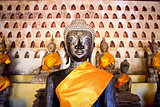 Buddha Image at Wat Si Saket in Vientiane, Laos.