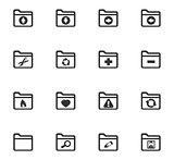 Folders icons set