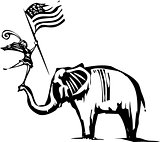 Republican Elephant Circus