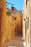 Street view in Mdina, Malta.