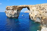 The Azure Window on Gozo island in Malta.