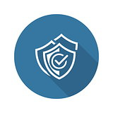 Multilevel Security Icon. Flat Design.