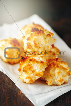 Fresh Baked Coconut Light Cookies