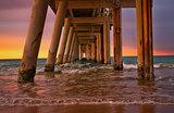 Pier of rainbows