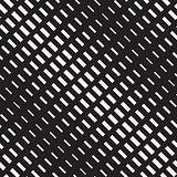 Vector Seamless Rectangle Halftone Diagonal Transition Geometric Pattern