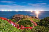 Shrine on the Sea of Japan