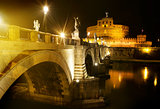 Bridge to castle Sant Angelo