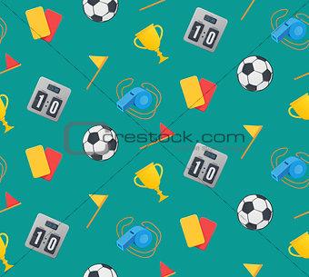 Football seamless pattern.
