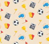 Football seamless pattern.