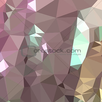 French Lilac Purple Abstract Low Polygon Background