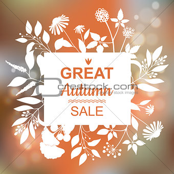 Great Autumn Sale Banner