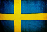 Swedish flag background