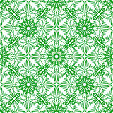 Green Seamless Texture Ornamental Backdrop