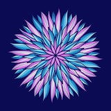 Mandala. Colorful round ornament. Vector illustration.