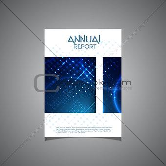 Business annual report cover design