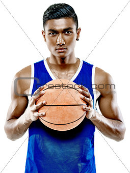 basketball player  man Isolated