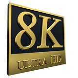 Ultra HD 8K icon