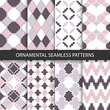 Delicate ornamental patterns - seamless.