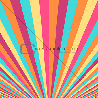 Abstract colorful striped background.