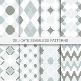 Vintage ornamental patterns - seamless.