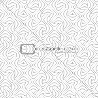 Circles geometric pattern - seamless.