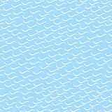 Wavy mosaic pattern - seamless background.