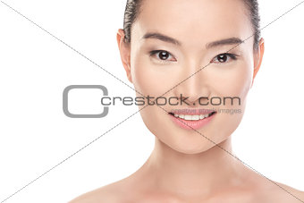 Asian Beauty. Health care concept