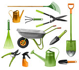 Essential gardening hand tools