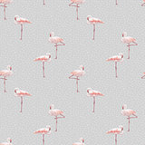 Pink flamingo seamless pattern