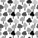 Cartoon patterned trees