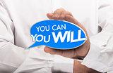 Achieving Goal, Motivation Concept.
